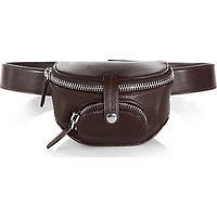 Alexander Wang Runway Mini Leather Fanny Pack photo