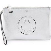 Anya Hindmarch Smiley Zip Top Pouch photo