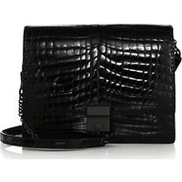 Bottega Veneta Crocodile Shoulder Bag photo
