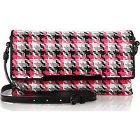Christian Louboutin Rougissime Multicolor Woven Clutch photo
