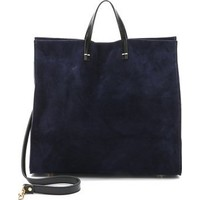 Clare V. Suede Simple Tote photo