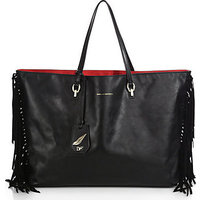 Diane von Furstenberg Sutra Ready To Go Large Fringed Tote photo