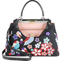 Fendi Peekaboo Beaded Satchel photo