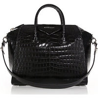 Givenchy Antigona Medium Crocodile Satchel photo