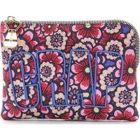 House of Holland Floral Nylon Pouch photo