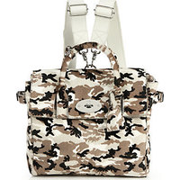 Mulberry Cara Delevingne Convertible Camouflage Calf Hair Satchel photo