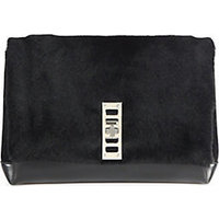Proenza Schouler Elliot Calf Hair Clutch photo