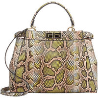 Fendi Python Peekaboo Bag photo