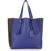Reed Krakoff Krush Two-Tone Milled-Leather Tote photo