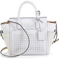 Reed Krakoff Mini Atlantique Bionic Mixed-Media Tote photo