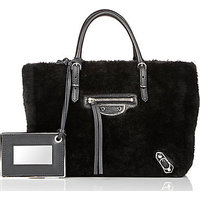 Balenciaga Shearling Papier Mini A4 photo