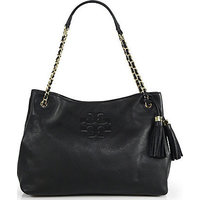 Tory Burch Thea Chain Shoulder Slouchy Tote photo