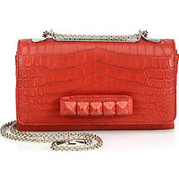 Valentino Va Va Voom Crocodile Shoulder Bag photo