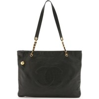 What Goes Around Comes Around Chanel Flat CC Tote (Previously Owned) photo